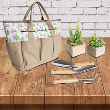 Canvas Tote Bag Heavy Duty Garden Bag Tool Bag