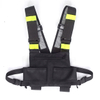 Universal Radio Harness Chest Rig Bag Pocket Pack Holster Vest