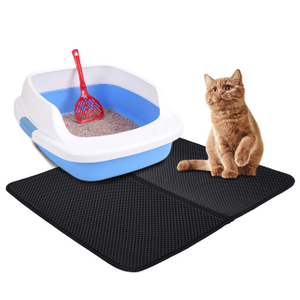 Cat Litter Mat Litter Trapping Pad for Litter Box of Jumbo Size 55x70 cm