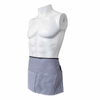 3 Pockets Half Waist Apron for Waitress, Waiter, Bartender, Restaurant, Bar, Cafe, Coffee Shop-White