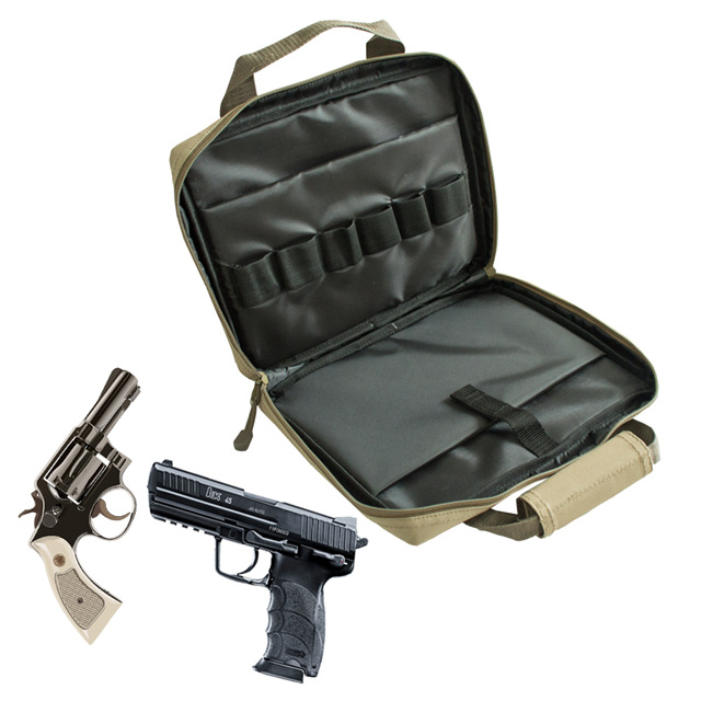 Multifunction Oxford Equipment Tactical Hand Pistol Carry Gun Bag