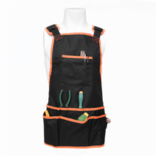 Professional Waterproof Adjustable Work Apron with 16 Tool Pockets