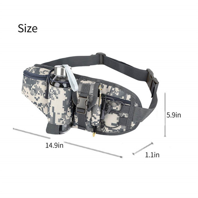 Camouflage Waist Pack Hiking Hunting Fanny Chest Pack