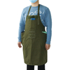 Adjustable Heavy Duty Durable Canvas BBQ Chef Tool Work Apron with Multi Large Pockets for Workshop and Gardening