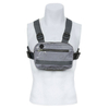 New Style Nylon Men Chest Rig Bag With Headphone Hole And Reflective Cloth Provide More Safety For Outdoor Running Sports