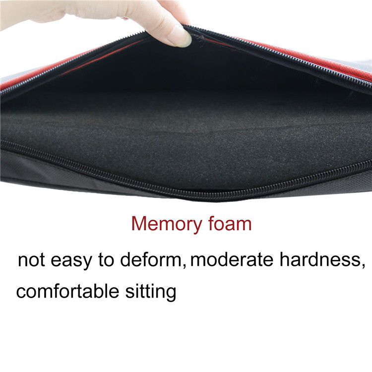 Outdoor Durable Comfort Slow Rebound Memory Foam Wheelchair Seat Cushion with Removable Water Resistant Cover