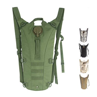 Tactical Water Bladder Hydration Backpack with 2.5L Water Bladder