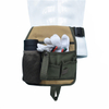Heavy Duty Garden Waist Tool Belt Bag with Adjustable Strap And Pouch