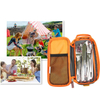 Customized Outdoor BBQ Tableware Storage Bag for Picnic Camping