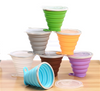 Collapsible Portable Silicone Folding Water Drinking Cup
