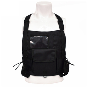 Custom Black Military Tactical Chest Rig Bag with Front Pouch