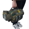 Camo Velvet Custom Military Waist Bag for Men Hiking