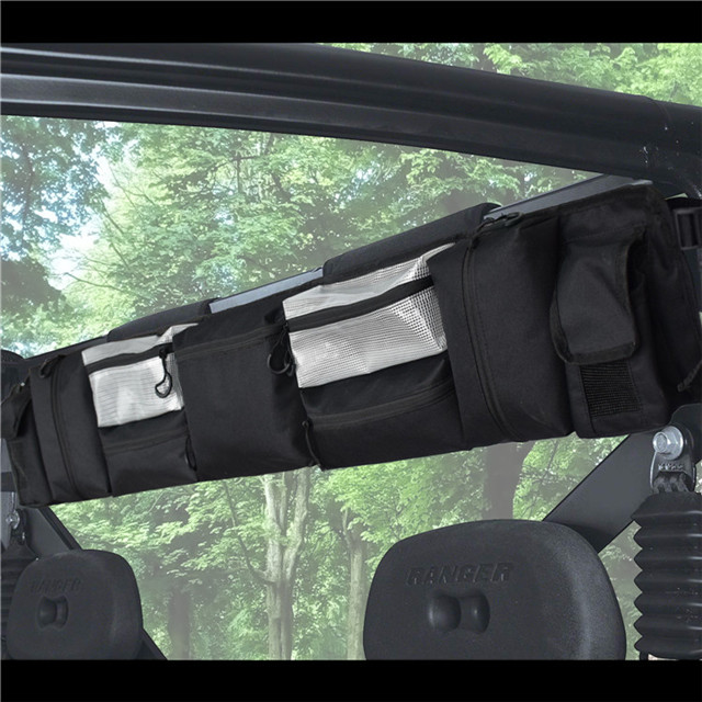 Durable UTV Large Roll Cage Organizer for Most Full Size UTVs