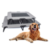 Custom Luxury Oxford Foldable Pet Dog Bed for Indoor and Outdoor