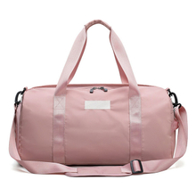 Travel Custom Women Gym Duffel bag with Shoe Compartment