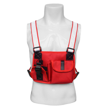 Universal Durable Tactical Radio Chest Harness for Two Way Radio