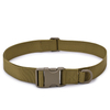Heavy Duty Adjustable Nylon Military Outdoor Sports Tactical Waist Belt with Plastic Buckle