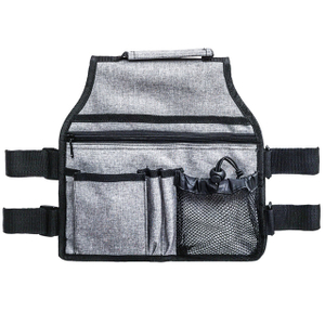 Wholesale Multipockets Hanging Side Walker Attachments Bag with Cup Holder