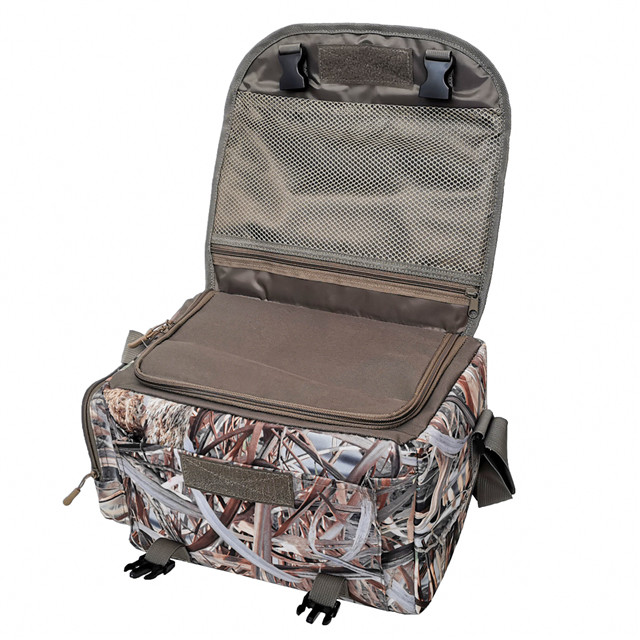 Outdoor Waterproof Camo Floating Hunting Blind Bag with Adjustable Shoulder Strap