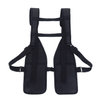 Double Adjustable Radio Shoulder Holster Chest Harness Holder Vest Rig